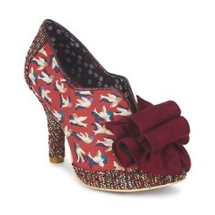 a4b3ab962bd8 Shoe boots Irregular Choice HOOK LINE SINKER Red Irregular Choice