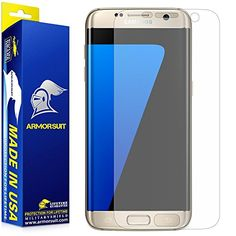ArmorSuit AntiGlare Full Coverage Armorsuit MilitaryShield Matte Screen Protector for Samsung Galaxy S7 Edge * Want additional info? Click on the image.