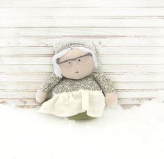 hand made doll Rag Doll Art Doll funny doll Home by AnnaDesigner, $38.00