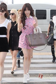 cute outfit by tiffany snsd