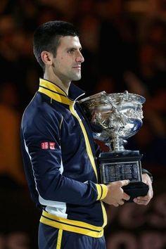 Novak Djokovic Australian Open winner 2013 #ausopen #tenis #tennis