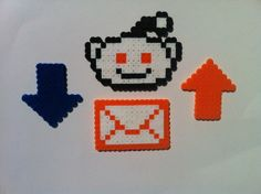 Reddit Perler Pack (wall art, magnets, or ornaments) $3 {We just sold one of these sets}
