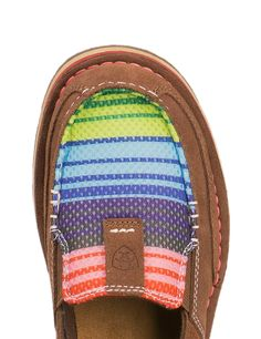 Ariat Women's Palm Brown with Serape Mesh Moc Casual Shoes Cute Shoes, Me Too Shoes, All About Shoes, Cowgirl Boots, Cowgirl Bling, Up Girl, Western Wear, Skinny, Chelsea Boots