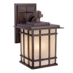 LOWES $103.75 Cascadia Lighting Manor House 9