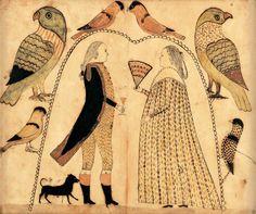 COUPLE UNDER AN ARBOR | American Folk Art Museum