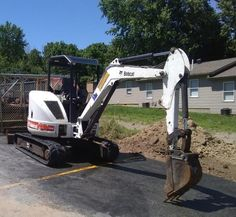 """2008 Bobcat 430 Mini Excavator SUPER OPERATING CONDITION AFFORDABLY PRICED  Location: Hillsboro, Ohio 45133 Stock#:SP-430 Serial # 56301 Hours : 2165 Bucket 24"""" Engine : Kubota 43 hp Diesel V2203 Long Arm Dig Depth 11 ft Backfill Blade Weighs 8258 lbs UC Excellent Condition   Why Choose a Heavy Equipment Broker? Log-on IronmartOnline to see how many others have SOLD with us...Globally and Locally, Seamlessly and Successfully.  Call me directly, Jay Trevorrow, 973-886-3020 Excavator For Sale, Mini Excavator, Hillsboro Ohio, Heavy Equipment For Sale, Heavy Construction Equipment, Kubota, Trucks For Sale, Diesel, Landscaping"""