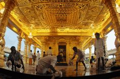 "Golden Temple ….. we think Amritsar.. But Vellore has ""mahalaksmi temple"" worth 600 crore INR Under final stages of finishing. No doubt Indian History is repeating itself.. & india is gaining back that classic era of supremacy slowly but steadily."
