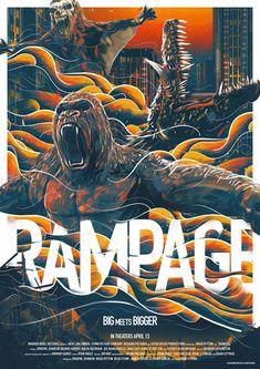 末日困獸戰/毀滅大作戰(Rampage)poster