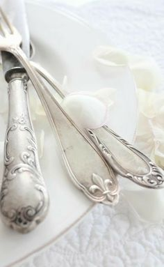 Chased Romantique By Alvin Sterling Silver Steak Knife Set Texas Sized Custom Can Be Repeatedly Remolded. Other Antique Furniture Furniture