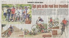PEDALERS...here we go with our first media coverage and as we write this we feel super excited that its non other than TOI who covered us and made us feel proud and motivated. Thanks to TOI, reporter Naina Arora along with photographer Ajay Kumar Gautam, Team Cyclofit, all the riders, families, friends, supporters and last but not least our core team at Pedalers Village. Together you all have been our source of regular motivation. We are committed to take this sport & our rider skills to…
