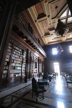 Library, El Capitolio, Havana by exfordy, via Flickr
