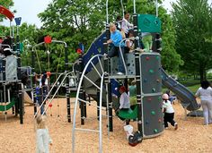 Powell Barnett Park--voted one of 5 coolest playgrounds in us