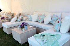 Wedding reception chill out area. Marquee wedding | The Brides Tree - Sunshine Coast Wedding