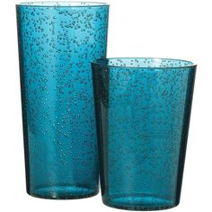 Room Essentials Bubble Tumbler Set of 8 (44 BRL) ❤ liked on Polyvore featuring home, kitchen & dining, drinkware, kitchen, blue, dining & entertaining, room essentials, room essentials tumblers, blue bubble glassware and plastic drinkware