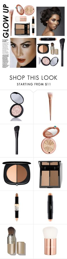 """Get Your Glow On!"" by quicherz ❤ liked on Polyvore featuring beauty, Anastasia Beverly Hills, L'Oréal Paris, NARS Cosmetics, Estée Lauder, Marc Jacobs, Trish McEvoy, NYX, MAC Cosmetics and Eve Lom"