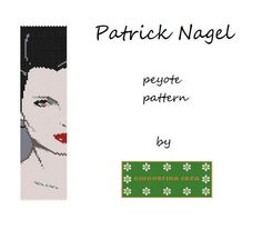 Looking for your next project? You're going to love Patrick Nagel by designer Giusy. - via @Craftsy