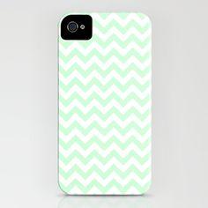 Chevron mint pastel iPhone Case - NEED THIS $35