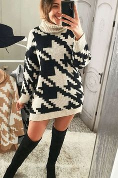 Knitted Long Sweater Trend 2021 New Trends, Latest Fashion Trends, Casual Outfits, Fashion Outfits, Fashionable Outfits, Long Sweaters, Clothes For Women, Fashion Design, Collection