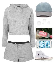 """""""DMD"""" by sasha06527 ❤ liked on Polyvore featuring Topshop, Forever 21 and Converse"""