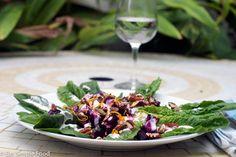 Roasted Beet and Pecan Salad - Eat Simple Food