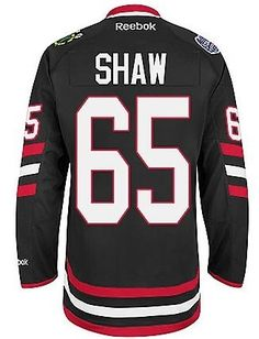 Chicago Blackhawks 2014 NHL Stadium Series Andrew Shaw Premier Jersey by Reebok