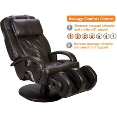 The HT-7120 may look like the HT-275, but it includes a Massage Comfort Control option allowing you to change the massage intensity to what feels better when you decide to get a massage.