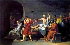 La Muerte de Sócrates. J.L.David. Neoclasicismo. S. XVIII.