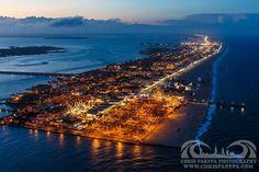 Ocean City MD at night...