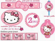 Hello Kitty Free Printable Kit.