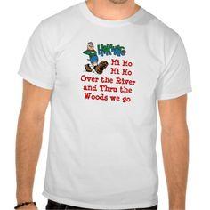 Hiking Hi Ho Tshirt