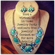 Host a chloe + isabel virtual or in-home pop-up shop party and earn free jewelry! Contact me for more details.