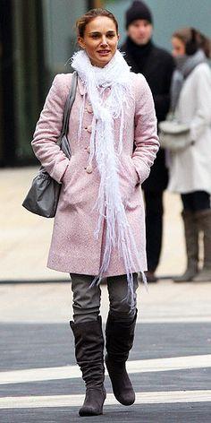 Black Swan~ Nina Sayers~ love the scarf and coat