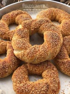 Short Pastry, Turkish Kitchen, Comfort Food, Iftar, Turkish Recipes, International Recipes, Pain, Bagel, Coco