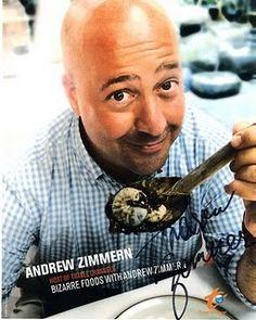Gotta love Bizarre Foods with Andrew Zimmern