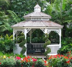 Reminds Me Of The Rose Inn We Had A Beautiful Gazebo