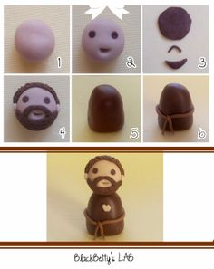 Best 12 48 Ideas For Cake Desing Diy Cupcake Toppers Nativity Ornaments, Nativity Crafts, Clay Ornaments, Christmas Nativity, Christmas Crafts, Christmas Ornaments, Christmas Topper, Christmas Cake Decorations, Diy Clay