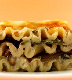 One Perfect Bite: Mushroom Lasagna Florentine - For Waist Watchers