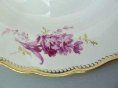 Meissen Teller,purpur Camaieu, Goldgräser,Goldwellenkante, D=23,5cm,1.Wahl, #1 | eBay
