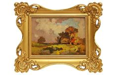 Sunset Tonalist Landscape - Curated Gallery Art