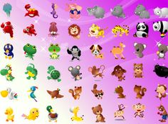 100 Nice Animals - Free Vector Downloads - Free Vector Illustrations, Free Vector Graphics