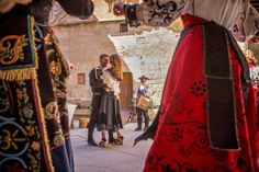 Wedding in Spanish Castle Vaulting, Castle, Sari, Gallery, Wedding, Beautiful, Fashion, Saree, Valentines Day Weddings