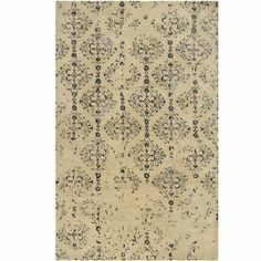 Banshee Rugs Plush Pile Contemporary Hand Tufted - Wool Rectangle