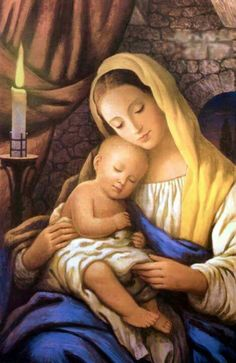 Our Blessed Mother Mary with Baby Jesus❤️
