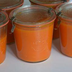 Tomaten paprikasoep wecken Pudding, Favorite Recipes, Canning, Tableware, Desserts, Food, Drinks, Winter, Jars