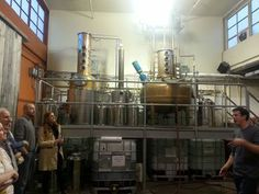 Touring Watershed Distillery