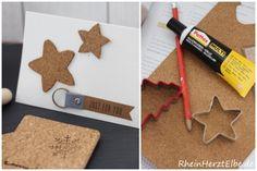 DIY Idee: Basteln mit Kork  Kork _Weihnachtskarte_rheinherztelbe