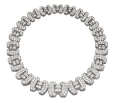 DIAMOND NECKLACE, CHAUMET,  CIRCA 1935