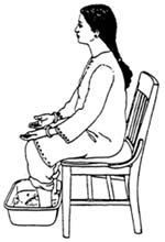 Sahaja Yoga water meditation. I could use this with the water meditation that requires a bath tub...