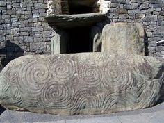 Perhaps the most amazing place I have ever been; Newgrange Neolithic Passage Tomb in Ireland