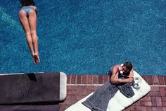 Richard Gere, Poolside in #LosAngeles by Herb Ritts (1982)
